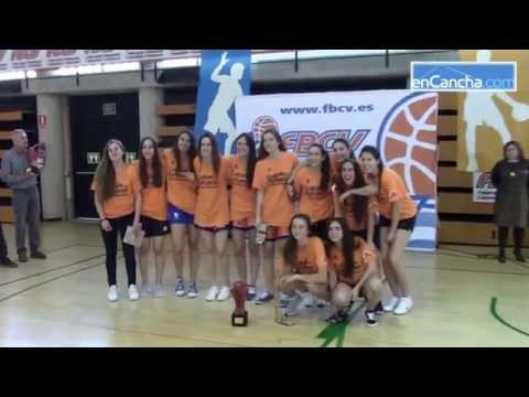 Final a 4 Junior Femenina Valenciana
