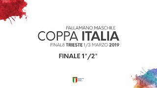 Coppa Italia maschile 2019 | Pressano - Bolzano 21-28