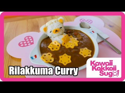 Kawaii Lunch Time Ep 2 &#8211; How to Make Rilakkuma Curry Hot Springs