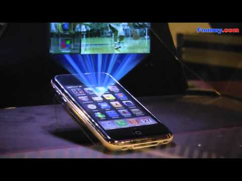 3D Hologram Projection Cube HoloAd at CES 2011 in HD Music Videos