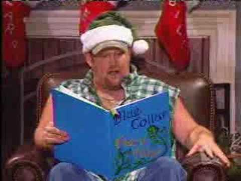 Larry The Cable Guy As Santa video