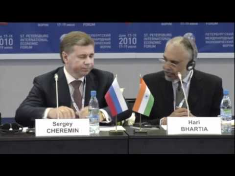 Hari Bhartia discusses economic growth in India, and Russia and Skolkovo