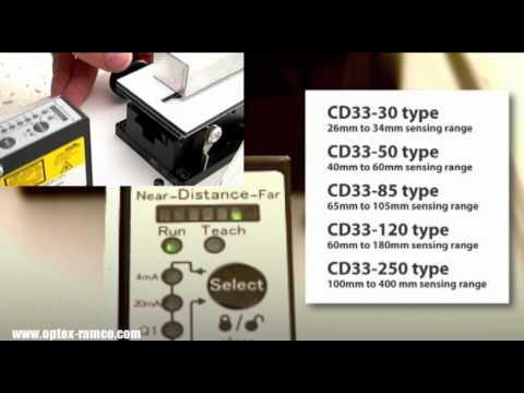 Optex FA: CD33 Series Bar Graph