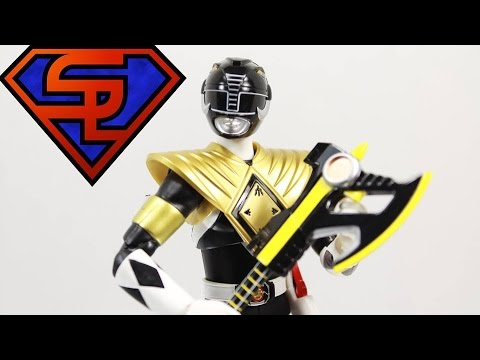 Mighty Morphin Power Rangers S.H. Figuarts Armored Black Ranger SDCC 2014 Exclusive Quickie Review