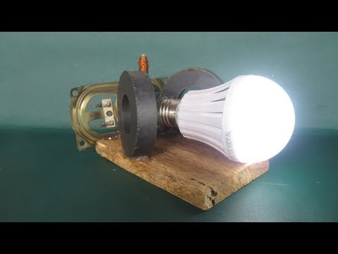Homemade free energy at home with magnets - Free energy light bulbs Device easy thumbnail