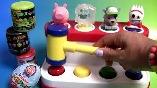 Pop-up toy Surprise Kinder egg Paw Patrol squishy Peppa pig Ninja Turttles Masha and the Bear