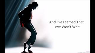 Watch Michael Jackson Shes Out Of My Life video