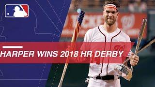 Harper wins HR Derby in bonus time at Nationals Park