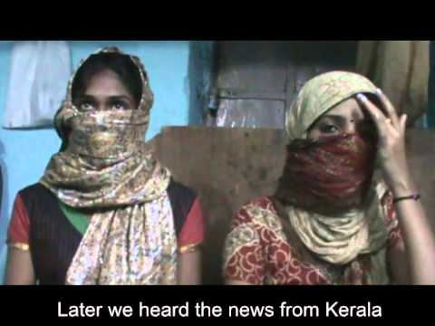 Kerala Crisis- Saranya And Sruthi video