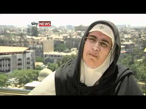 Syrian Nun discloses Lies by Free Syrian Army and Media on Homs and Houla (June 16, 2012)