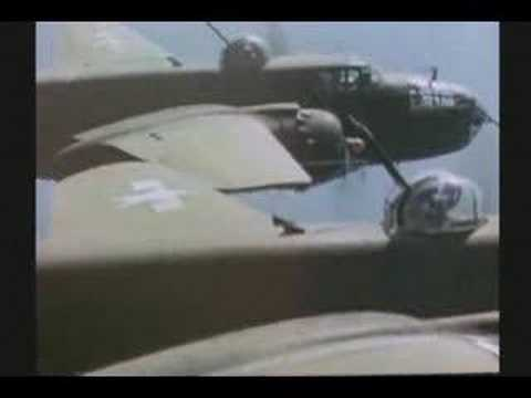 WW II : RARE COLOR FILM : INVASION OF ITALY