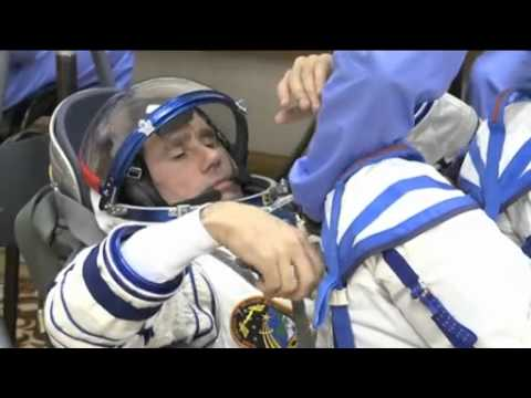 Expedition 32 Trio Launches to the Space Station | NASA ISS Soyuz TMA-05M Video