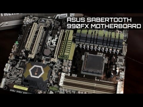 Asus 990FX Sabertooth UEFI Bios and AI Suite Overview