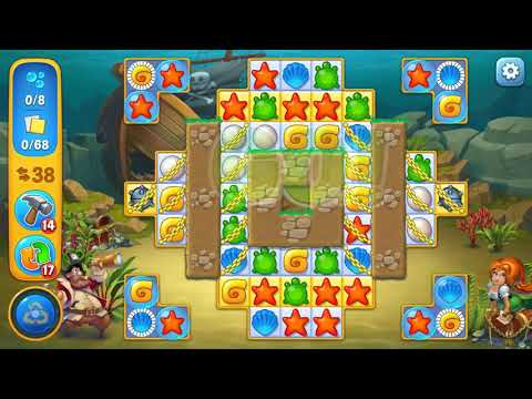 Fishdom SUPER HARD level 891 Gameplay (iOS Android)