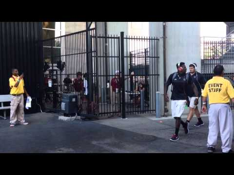 Gamecock Walk - Texas A&m 2014 (stadium View) video
