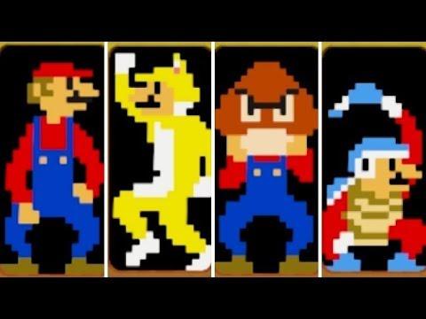 Super Mario Maker 2 - All Hidden Weird Mario Costumes & Power-Ups