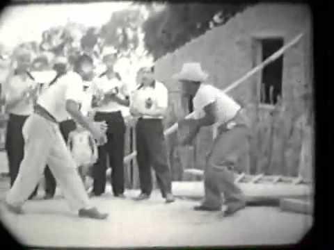 Mestre Pastinha Jogando Capoeira Mestre Pastinha Jogando Ceca