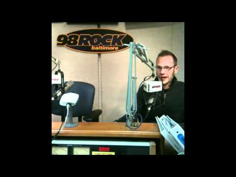 Adam Dutkiewicz LIVE on 98Rock Baltimore Part 1