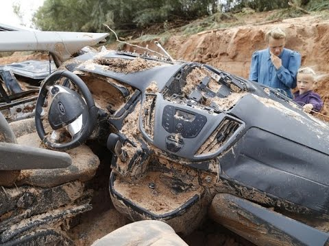 16th Sept End-Times News - UTAH FLASH FLOOD FOOTAGE, 500 year California drought, Jerusalem update