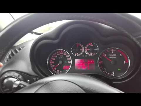 Alfa 147 1.9 JTDm 150 HP acceleration 0-120