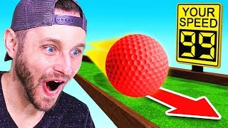 FASTEST GOLF SHOT in THE WORLD! (Golf with Friends)
