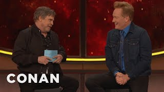 Mark Hamill Gives Conan The Comic-Con® Citizenship Test - CONAN on TBS