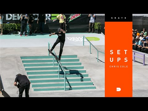 Setups: Chris Cole