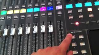 Behringer x32 Tutorial - Mute groups