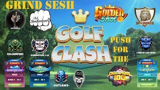 Golf Clash - GS, T8, T9 & T10 Grind and Push to C100