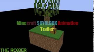 SKYBLOCK A MINECRAFT ANIMATION