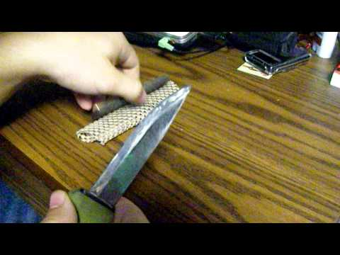 Sharpening My Mora Bushcraft knife