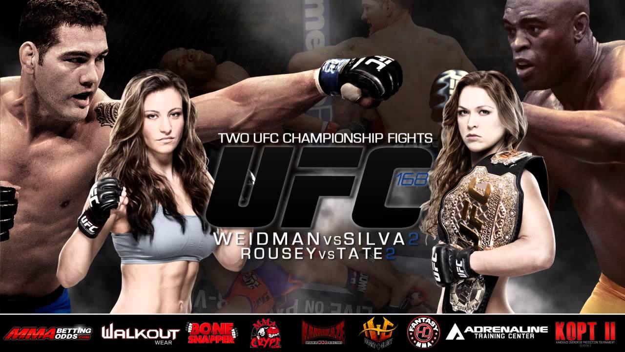 Ufc 168 Weidman Vs Silva 2 UFC 168 Weidman vs Silva 2