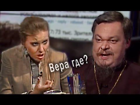 Ксения Собчак задавила Чаплина в угол!