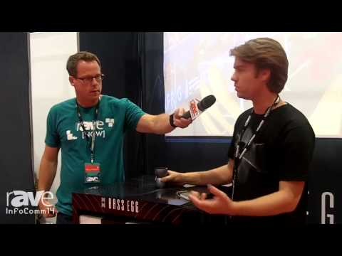 InfoComm 2014: Gary Kayye Speaks with Bass Egg's Adam McPherson About the Bass Egg Speaker