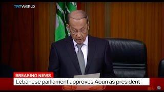 Lebanon Election: Michel Aoun elected president of Lebanon