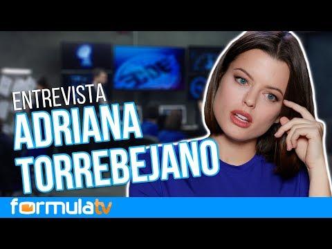 Adriana Torrebejano desvela la situación que más le sorprendió rodar en 'Cuerpo de élite'