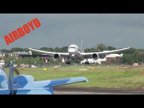 Qatar Boeing 787 Flight Demonstration - Farnborough Airshow 2012 (Tuesday)