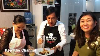 Kim Tử Long vào bếp  tiếp tục nổ banh nhà lồng  Điền Trung _ Kép Khó
