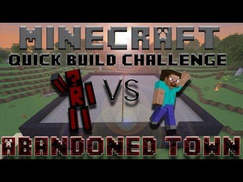 Minecraft Quick Build Challenge - World Championship! (Finals: Niko2Two vs MrMWeiss)