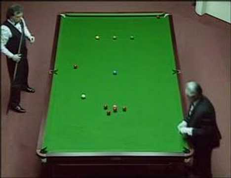 147 break by Jimmy White vs. Tony Drago - 1992 crucible