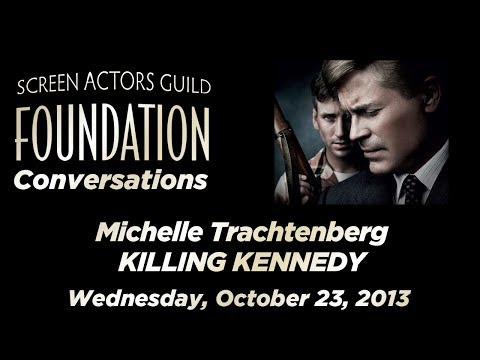 Conversations with Michelle Trachtenberg of KILLING KENNEDY