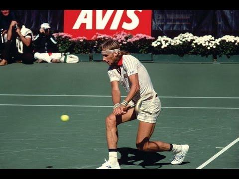 BJORN BORG 1976 US Open Highlights