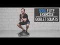 BOSU Elite Exercise: Compression Goblet Squat