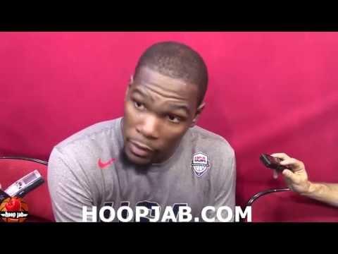 Kevin Durant Praises Kyrie Irving. USA Basketball Rio Olympics 2016