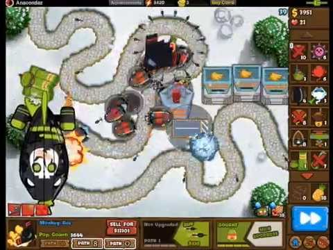 Bloons Monkey City: Contested Territory Week 8
