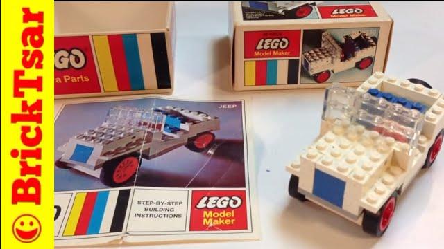 Lego Samsonite 330 Jeep Model Maker Vintage Set From 1968