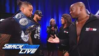 Chad Gable & Shelton Benjamin square up to The Usos: SmackDown LIVE, Oct. 17, 2017