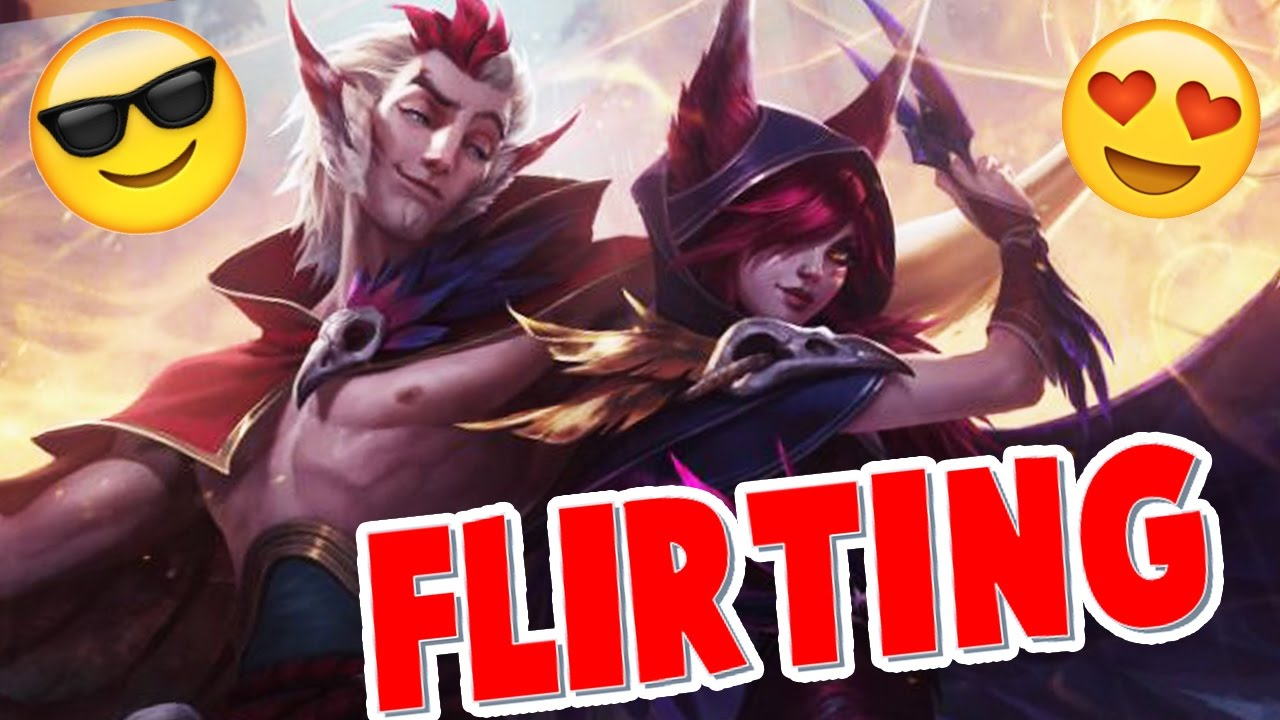RAKAN and XAYAH FLIRTING with each other !!! and VOICE INTERACTIONS   #LeagueOfLegends