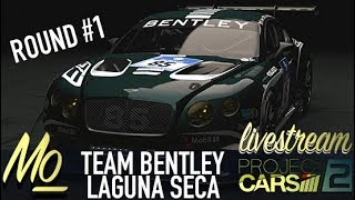Project CARS 2: GT3 Team Championship | Round #1 @ Laguna Seca, USA