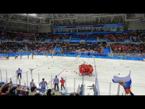 Олимпийские игры 2018: Россия - Германия 4:3 Овертайм, победный гол